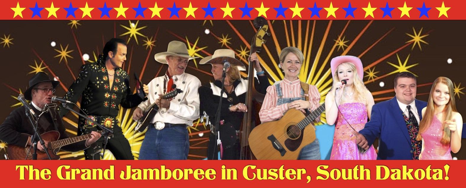 A musical variety show in Custer, South Dakota